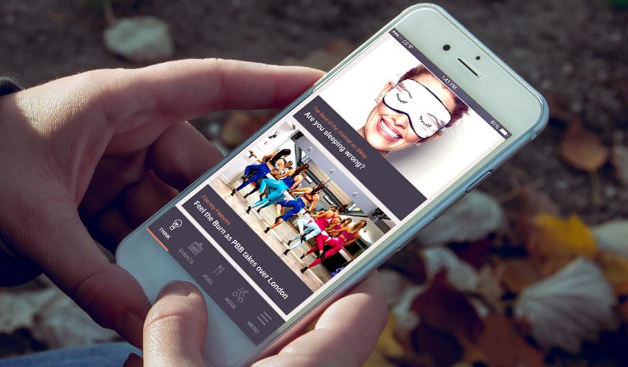Fiternity - cross-platform mobile app