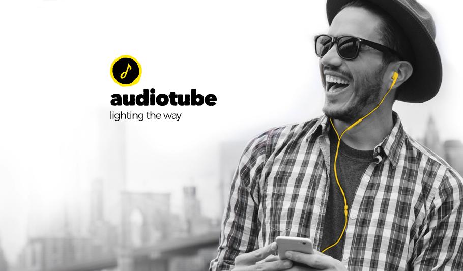 Audiotube Brand Identity