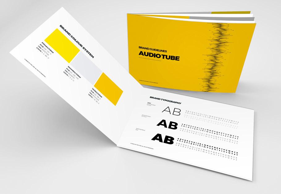 Responsive Website Design for Audiotube in London UK