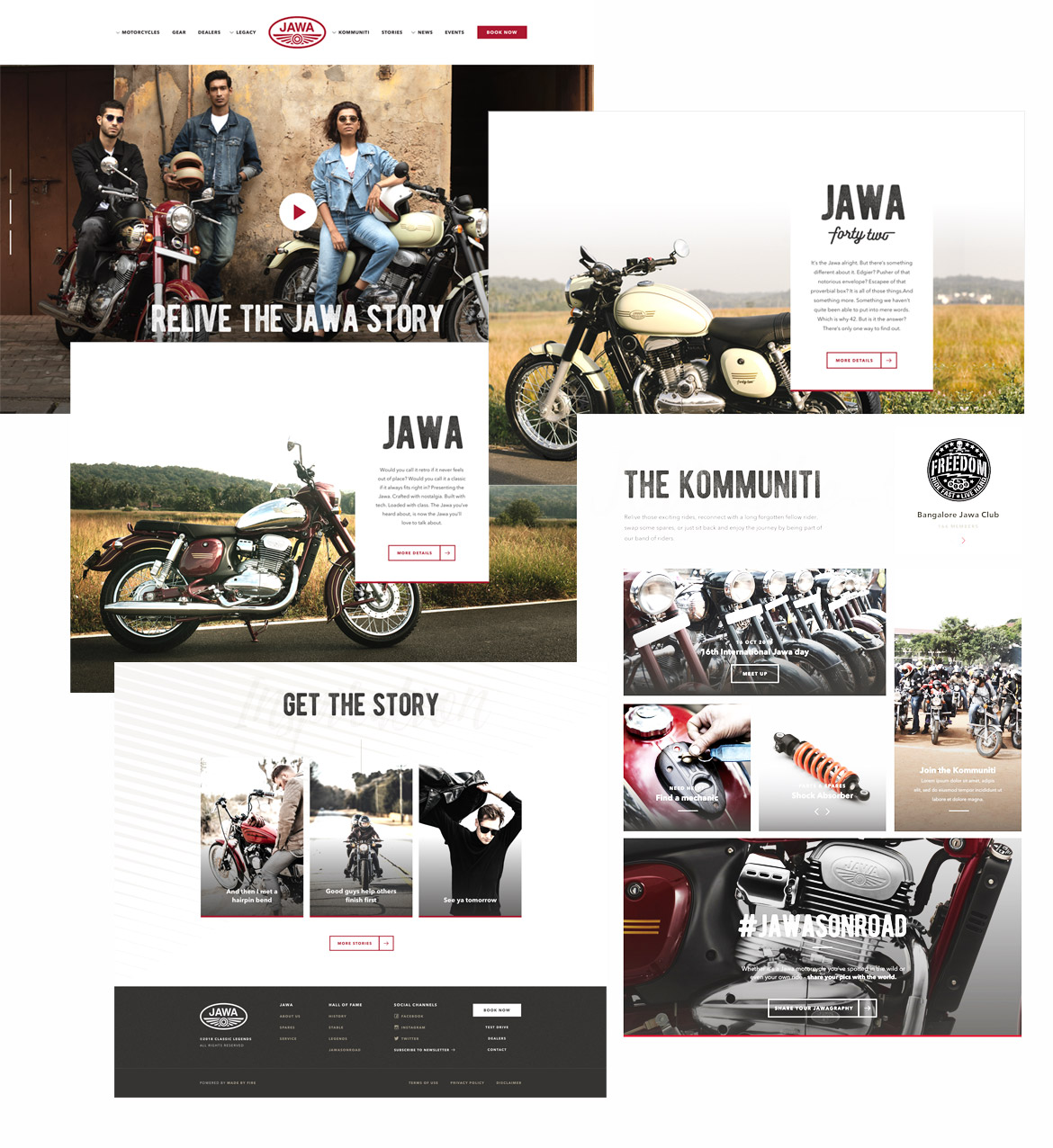 Jawa Motorcycles website